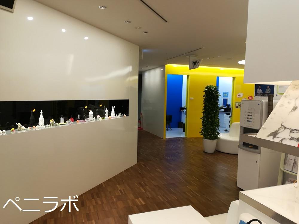 メンズヘルスクリニック東京の廊下の写真
